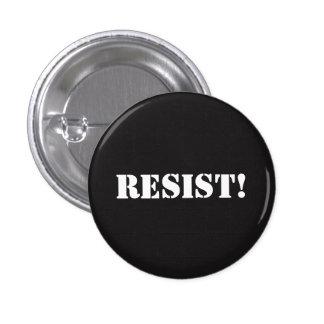 Resist! 3 Cm Round Badge