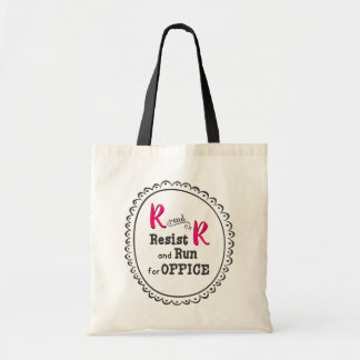 Resist and Run for Office Tote Bag