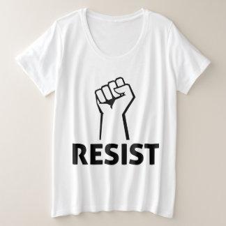 Resist Anti Trump Plus Size T-Shirt