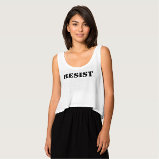 resist anti trump women rights women march red tank top