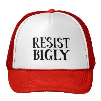 Resist Bigly Anti Trump Resistance Cap