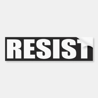 """RESIST"" BUMPER STICKER"