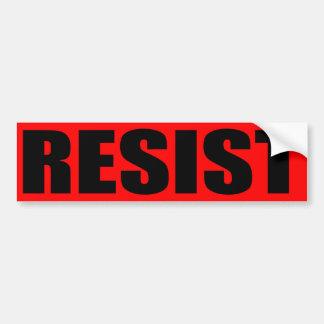 """RESIST"" BUMPER STICKER"