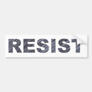 Resist Bumper Sticker | Anti-Trump Movement