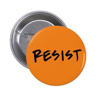 Resist Button Orange (or pick your own color)