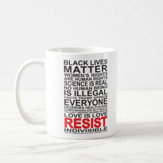 Resist Coffee Cup