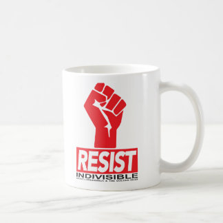 Resist Coffee Cup