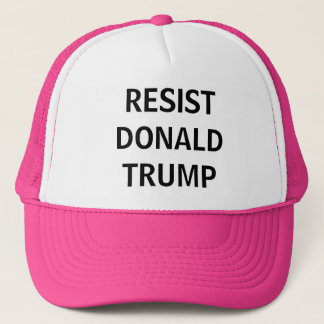Resist Donald Trump Trucker Hat