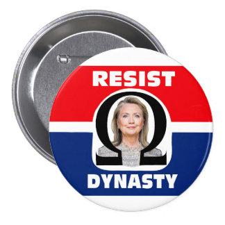 Resist Dynasty 7.5 Cm Round Badge