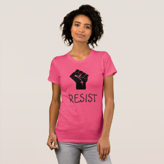 Resist Fist Anti Donald Trump Women Shirt
