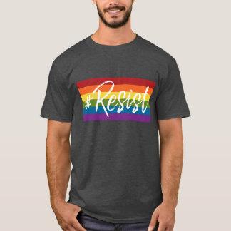 #Resist - Love Trumps Hate - Anti Donald Trump T-Shirt