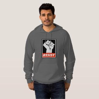 Resist men's hoodie