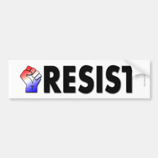 Resist (Patriotic) Bumper Sticker