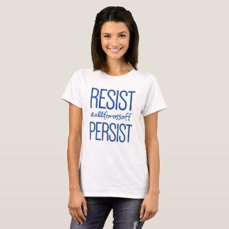 Resist & Persist #AllForOssoff - BLUE T-Shirt