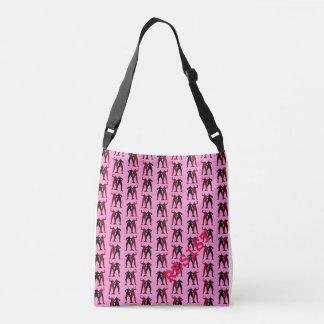 RESIST/PERSIST Cross body tote bag