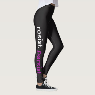 Resist. Persist. Leggings