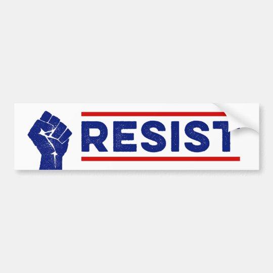 Resist Protest Anti-Trump Bumper Sticker