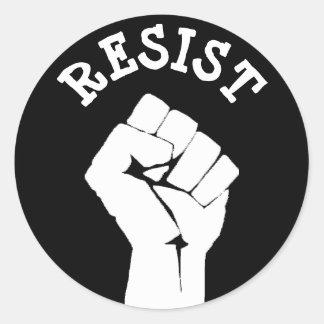Resist Protester Fist Anti-Trump Political Sticker