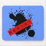 RESIST Rebellious Design Mouse Pad