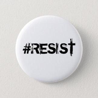 #RESIST Standard Button - Black Text