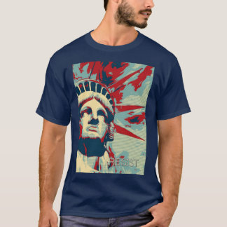 RESIST - Statue of Liberty T-Shirt