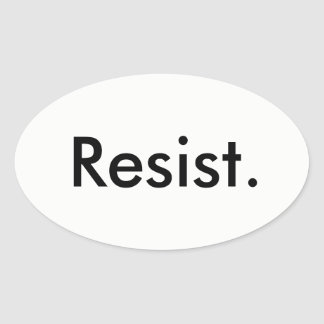 Resist  Sticker