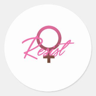 Resist! Sticker