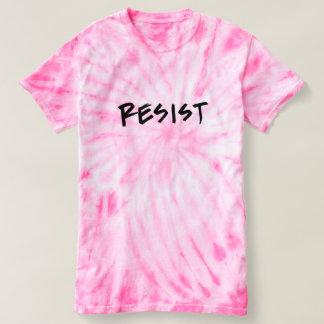 Resist T-Shirt- Pink Tie Die T-Shirt