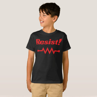 Resist! t-shirt (red)