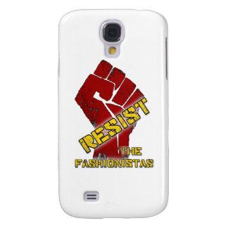 Resist The Fashionistas Galaxy S4 Case