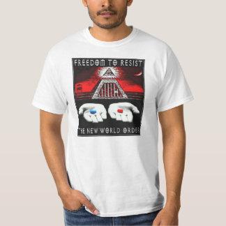 Resist The New World Order T-Shirt