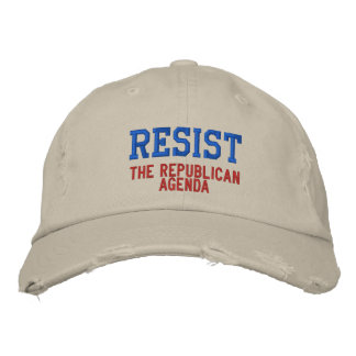 Resist the Republican Agenda Baseball Cap