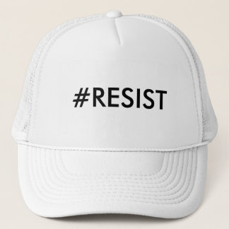 #RESIST TRUCKER HAT