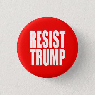 """""""RESIST TRUMP"""" 3 CM ROUND BADGE"""