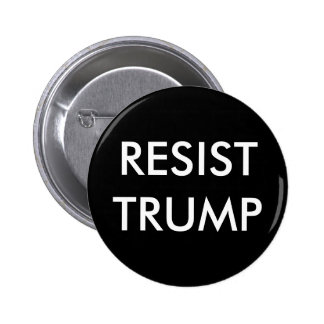 Resist Trump 6 Cm Round Badge