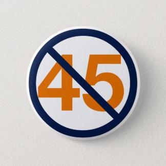 Resist Trump! Resist 45! 6 Cm Round Badge