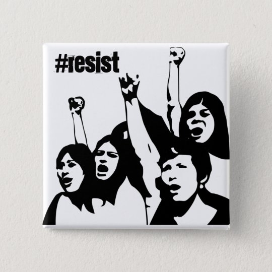 Resist, Women's Rights Button