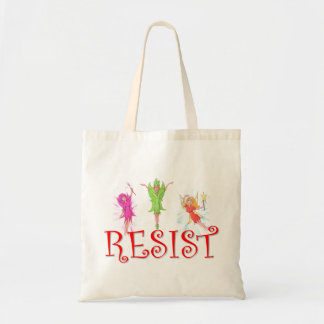 Resistance Fairies Tote Bag