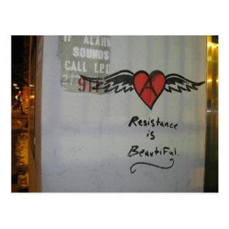 Resistance is Beautiful Postcard
