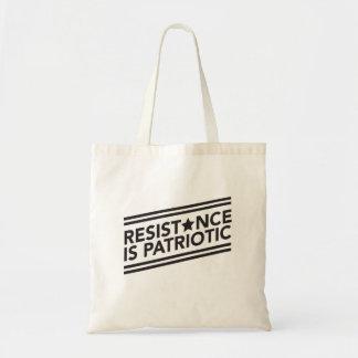 Resistance is Patriotic Tote Bag