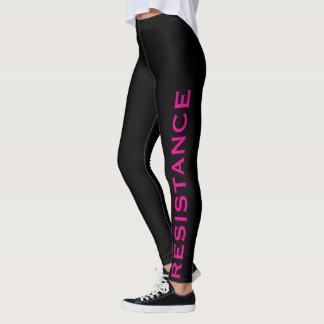 Resistance Pink Black Resist 2 Leggings