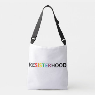 Resisterhood cross-body bag