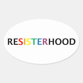 Resisterhood Sticker