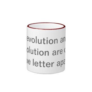 Resolution vs. Revolution Ringer Mug