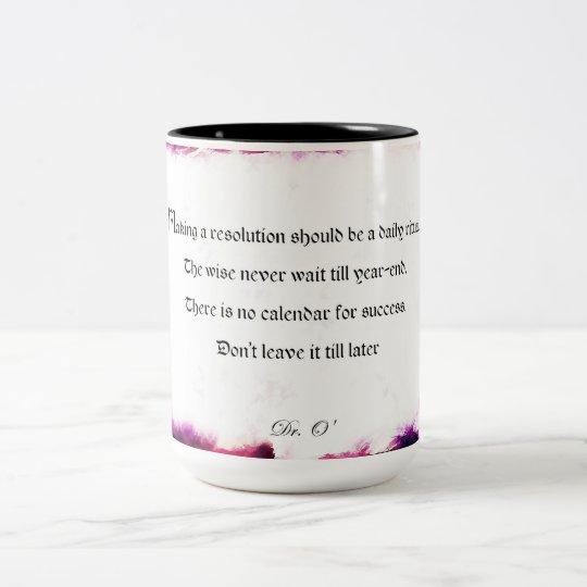 Resolutions - Mug