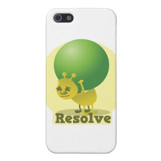 Resolve determind ant motivated with pea iPhone 5 case