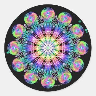 Resolve To Evolve Round Sticker