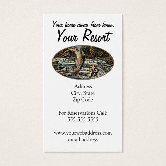 Resort Customise Business Card