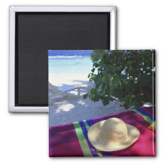 Resort Image 3 Square Magnet