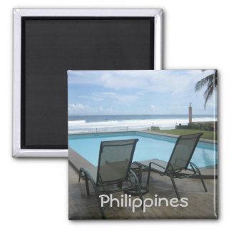 Resort Square Magnet